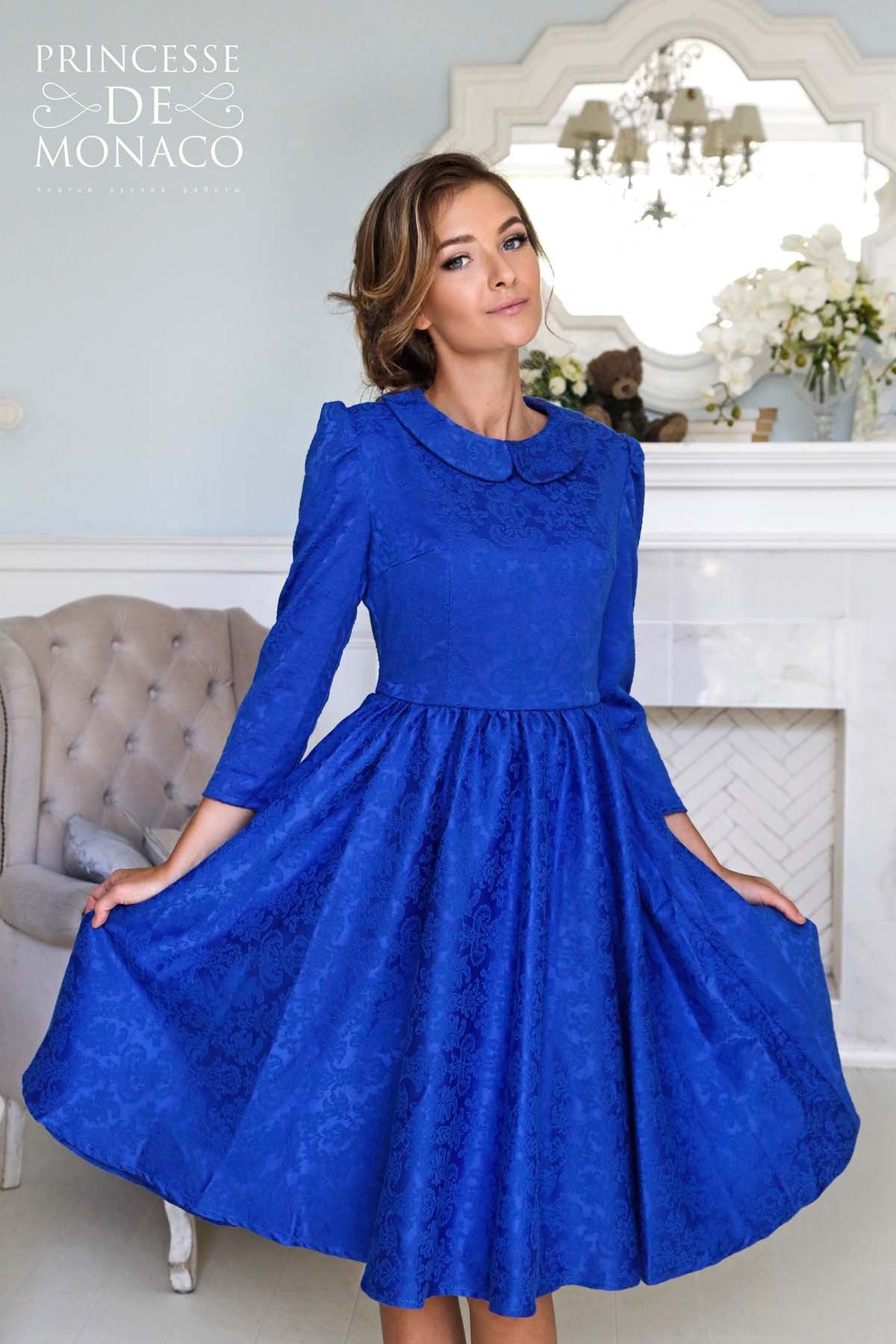 Вечерние синие платья спб