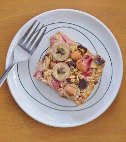 The Art of Comfort Baking: Strawberry Banana Baked Oatmeal