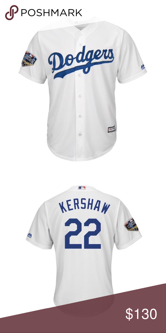 more photos 3ce15 0aac1 Los Angeles dodgers Clayton kershaw 2018 jersey *new with ...