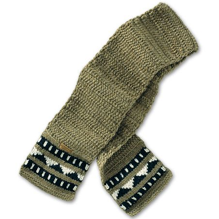 www.Filson.com | Remarkably warm and comfortable, just wearing this superb knit scarf will lift your spirit. Our Cowichan scarves are hand-knit of heavy, water resistant natural wool to serve you for a lifetime.