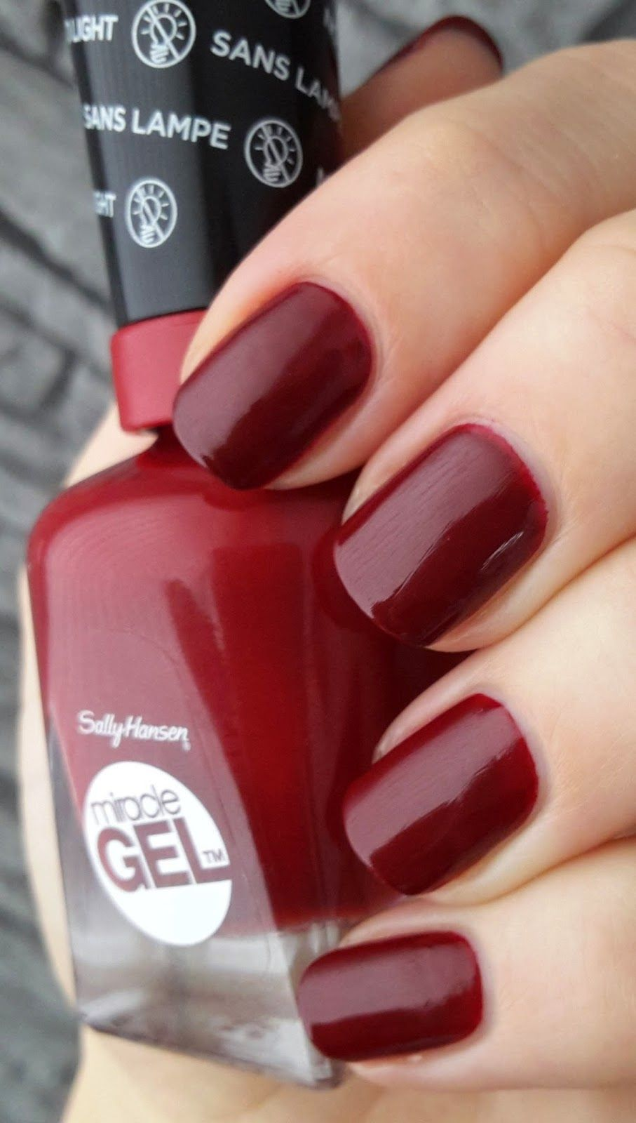 Sally Hansen Dig Fig 05 ...A great red! | Aseret Nail Therapy...etc ...