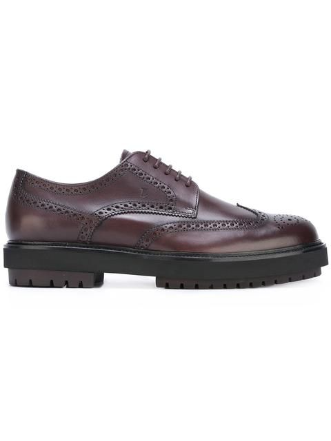 with paypal low price Cheapest cheap online Tod's brogue detail derby shoes cheap very cheap ZcrDFRZ