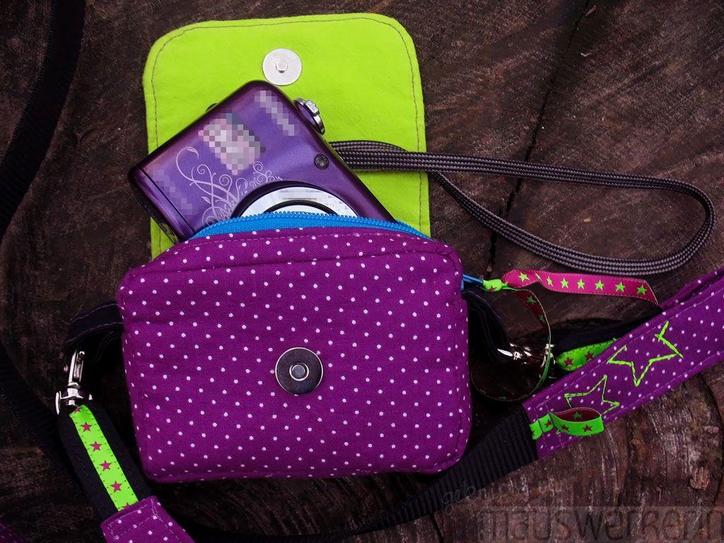 Eine Fototasche - zum selber Nähen | Nähen - Taschen und so ...
