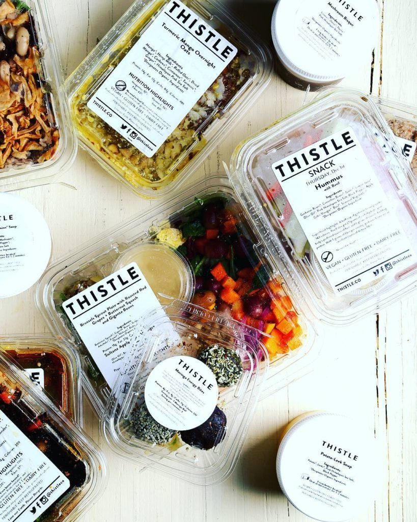 Thistle Plant Based Meal Delivery Subscription Service