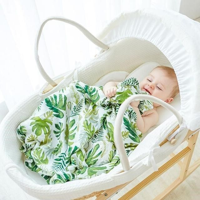 Pin by KlgShop on Baby and Children | Muslin baby blankets ...