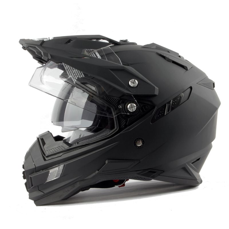 8a7a117d Aliexpress.com: Comprar Casco de la motocicleta de la marca tx27 thh  motocross casco casco de moto casco con doble visoratv mtb downhill gost  metal negro ...