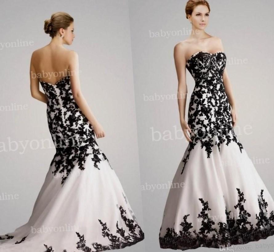 Black plus size wedding dress - http://pluslook.eu/dresses/black ...