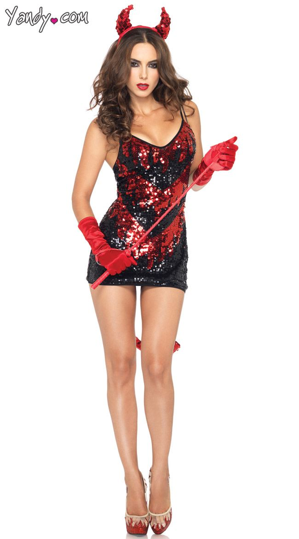 Hypnotic Lace-Up Dress Costumes,\u003cbr/\u003e, Darlings and Demons - female halloween costume ideas