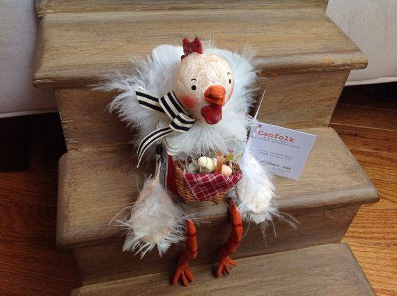 Chicken Canfolk by Canfolk on Etsy, $35.00