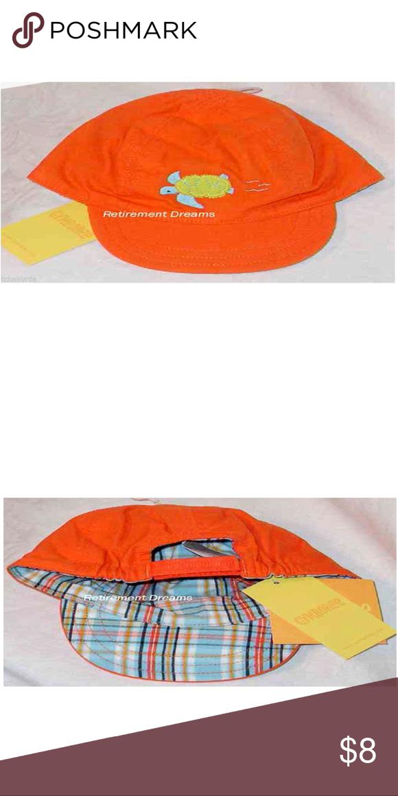 5/$25 GYMBOREE NB-6M Hat AT THE BEACH Sea Turtle