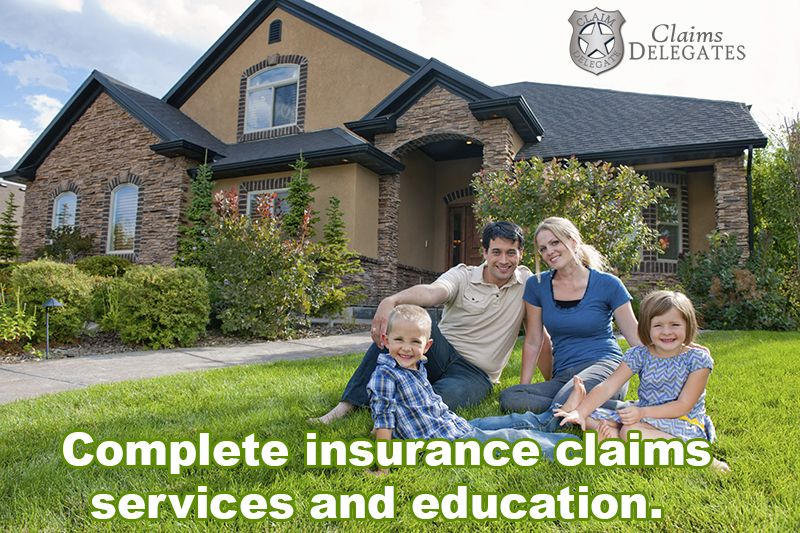 Claims delegates complete insurance claims services and