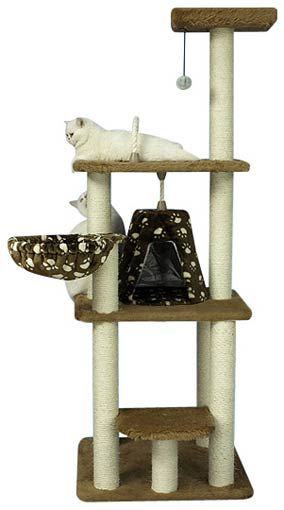 Cly Deluxe Kitty Cat Tree