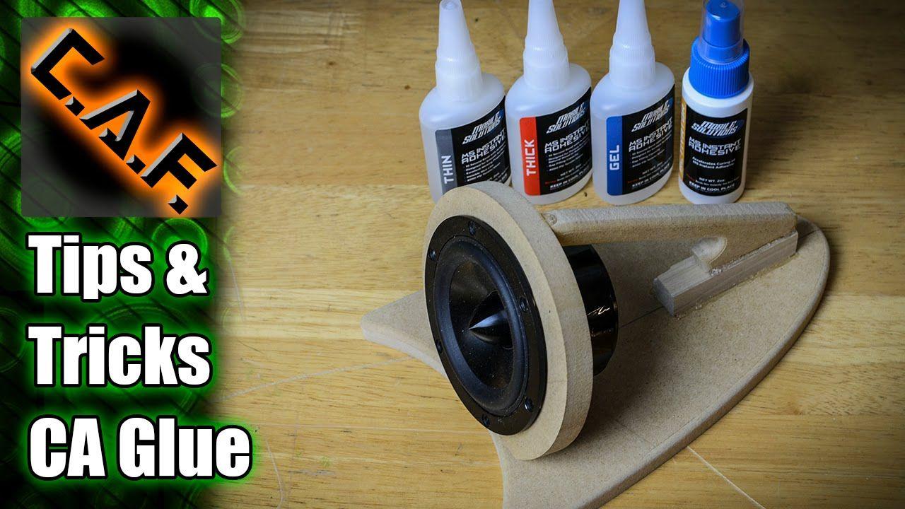 (3) CA Glue TIPS & TRICKS CarAudioFabrication Custom