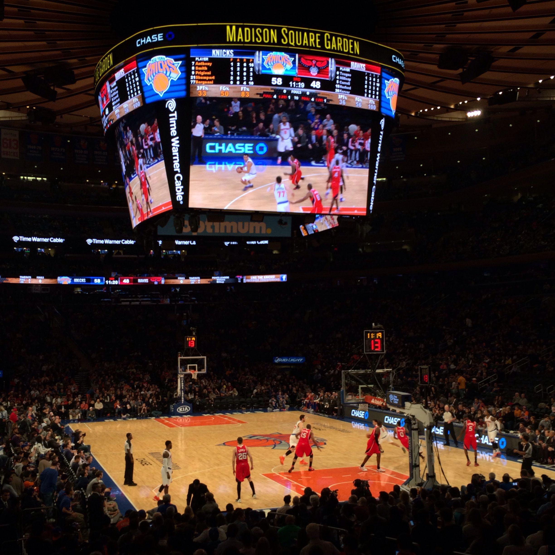 Madison Square Garden Knicks Vs Hawks Sport Events Venues I Have Visited Pinterest