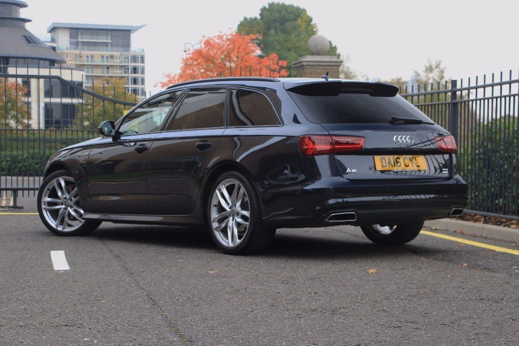 audi a6 avant 2 0 tdi ultra black edition s tronic 5dr. Black Bedroom Furniture Sets. Home Design Ideas