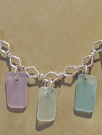 printsandpotter.com | JEWELRY: The Seaglass line from White Light Productions is a big seller during the summer! Carry a bit of the ocean with you everywhere you go!