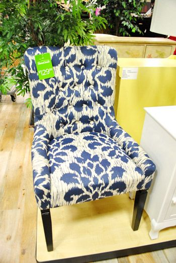 $129 At Homegoods. Use This Blue U0026 White Print Chair (or Something Cheaper!