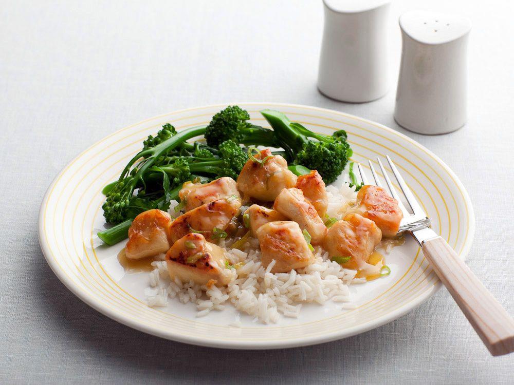 Lemon Chicken Recipe : Rachael Ray : Food Network - FoodNetwork.com -------  Smagte dejligt. Ikke Maleks favorit