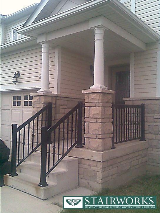 18 Exterior Railing Designs Ideas: Railings For Stairs Exterior