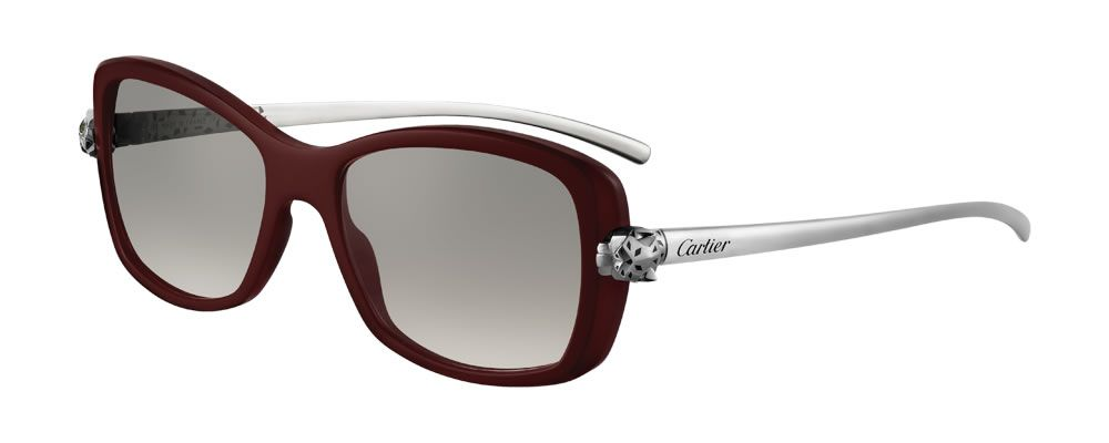4b509758de1b The Panthère Wild De Cartier sunglasses for women is a unique new  collection of eyewear with the brand s iconic panther accents gracing  either temple and ...