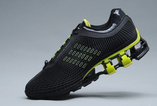 81bfd5377 Adidas Porsche Design S2 Original Running Shoe Mens BOUNCE S2 Black Or Lime
