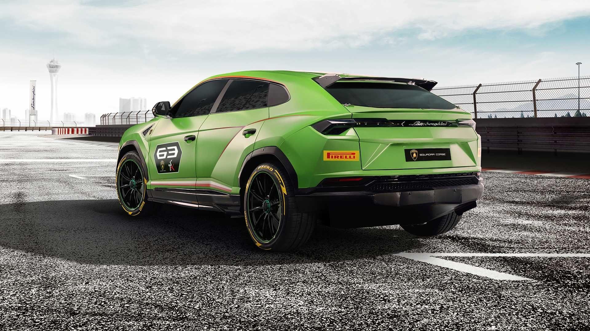 Lamborghini Urus St X Concept Is A Track Ready Super Suv Lamborghini Suv Super Cars