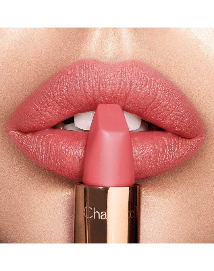 Peach Pink Matte Lipstick Sunset Lover Matte Revolution