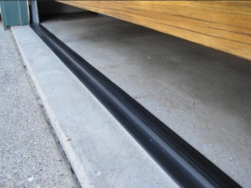 Garage Door Weather Stripping For Floor Diy Garage