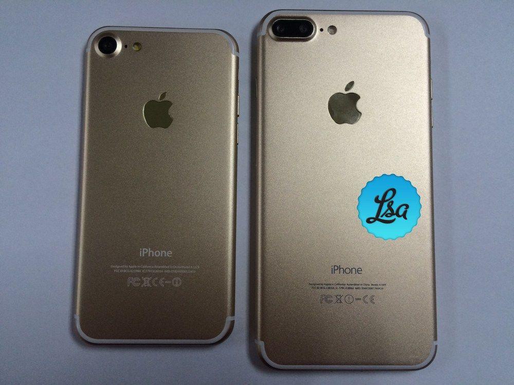 iPhone 7 y iPhone 7 Plus se filtran en fotos mostrando su color ...