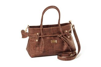 Cork Bag ROMA Wood