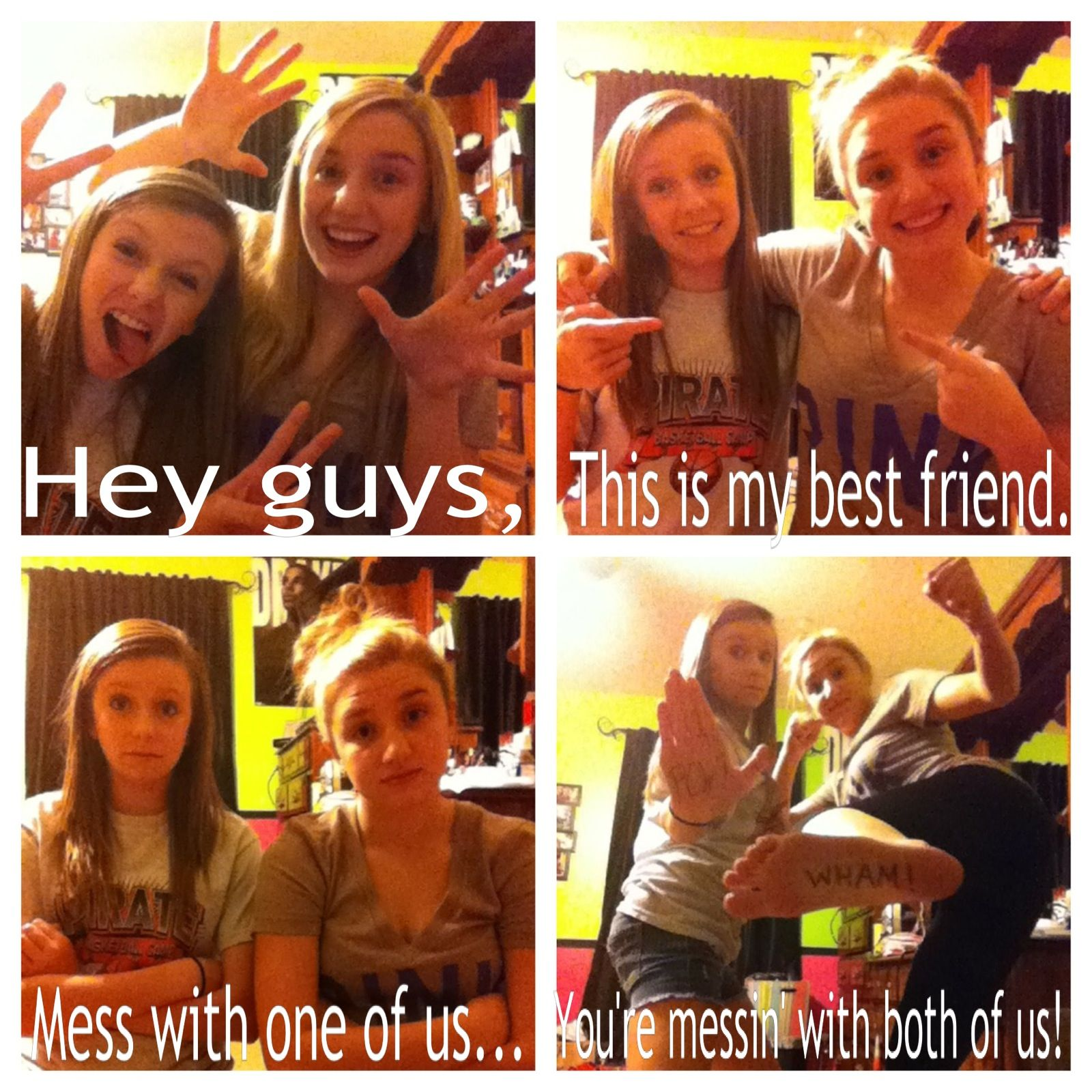Best Friends Teenagers Fun Bored Cute Funny Quote