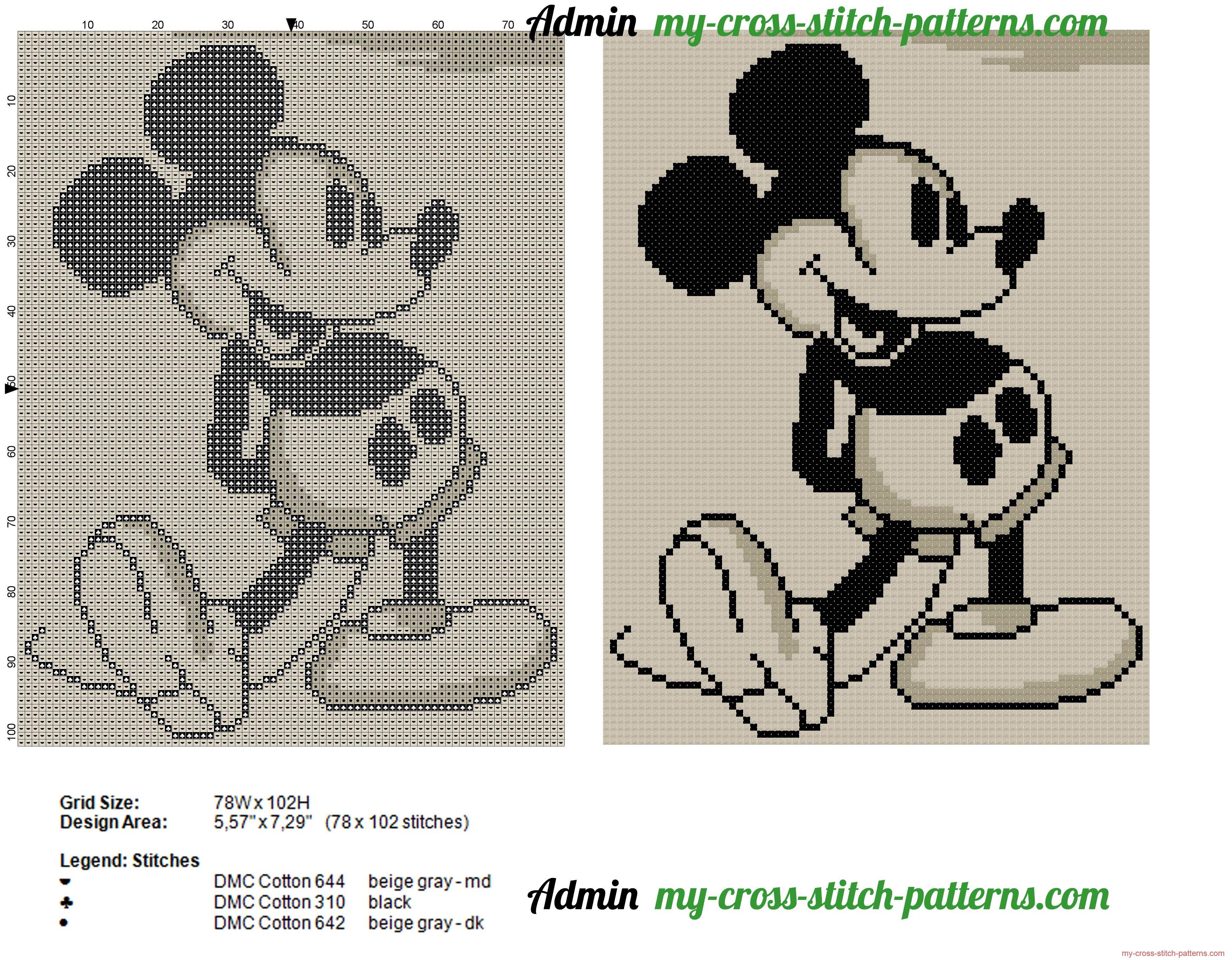 mickey_mouse_estilo_de_epoca_esquema_punto_de_cruz_78x102.jpg 3,692 ...