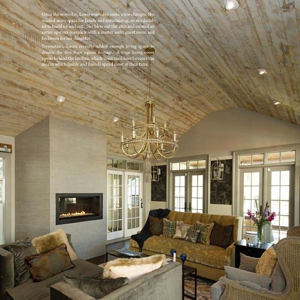 White washed ceiling reclaimed wood mantels beams for White ceiling with wood beams