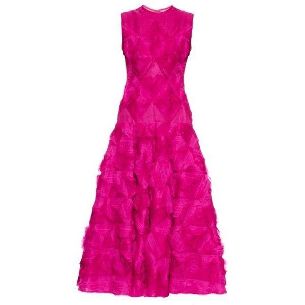 Roksanda Belmore silk-organza A-line gown (41.415 DKK) ❤ liked on ...
