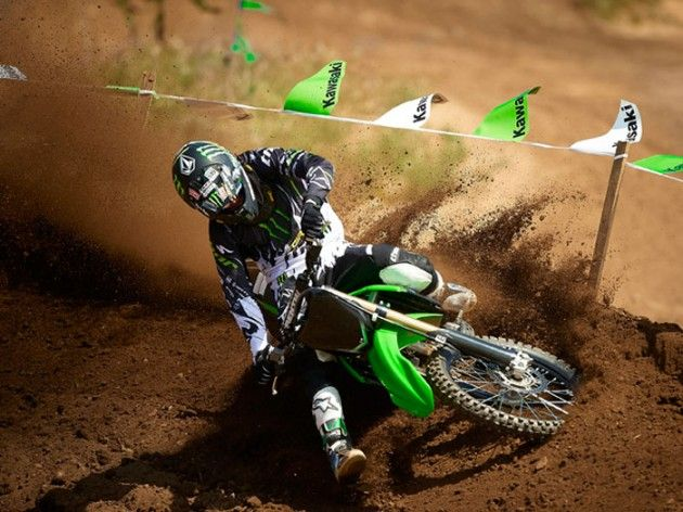 Kawasaki Dirt Bikes Wallpaper