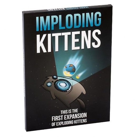 Imploding Kittens Is The First Expansion Of Exploding Kittens