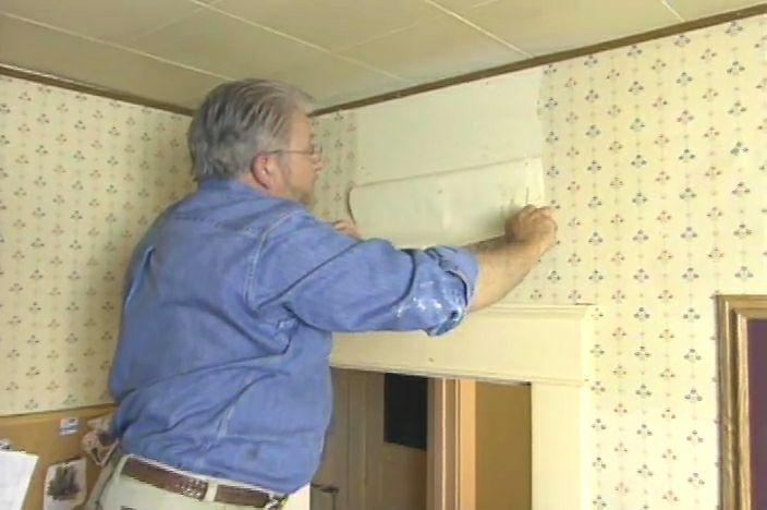 How to Remove Wallpaper Easily • Ron Hazelton Online • DIY