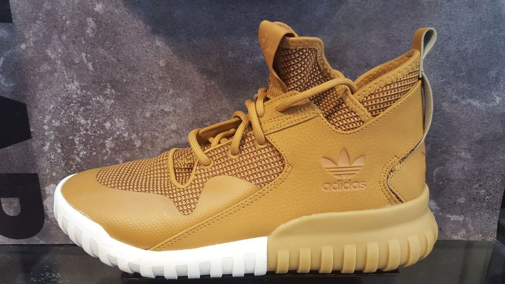 big sale 6553c 9f633 ... discount adidas tubular x mesa wheat tan white gum men gs s75513 size  4y 13 new ...
