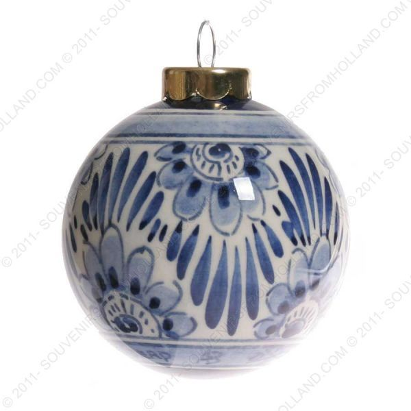 Ball - Delft Blue - Christmas Ornaments - X-Mas Ornaments Christmas - Delft Blue - Christmas Ornaments