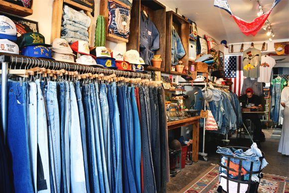 Our Top Five Favorite Vintage Shops In La Right Now Vintage Shops Shopping Denim Shop