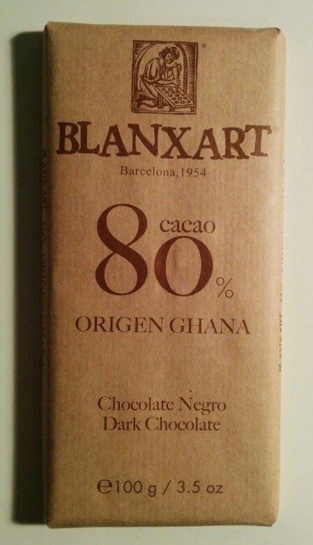 Blanxart 80% Origen Ghana