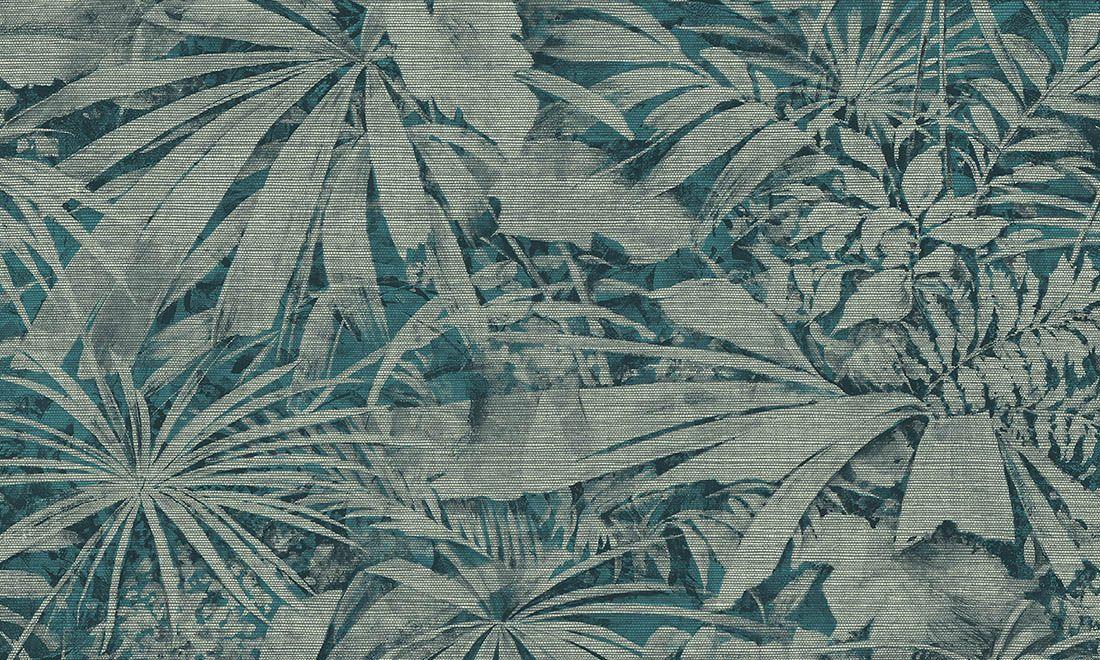 Arte behang Grove toont een weelde aan groen en zet de tropische trend voort. Een botanische tuin was nooit eerder zo toegankelijk.
