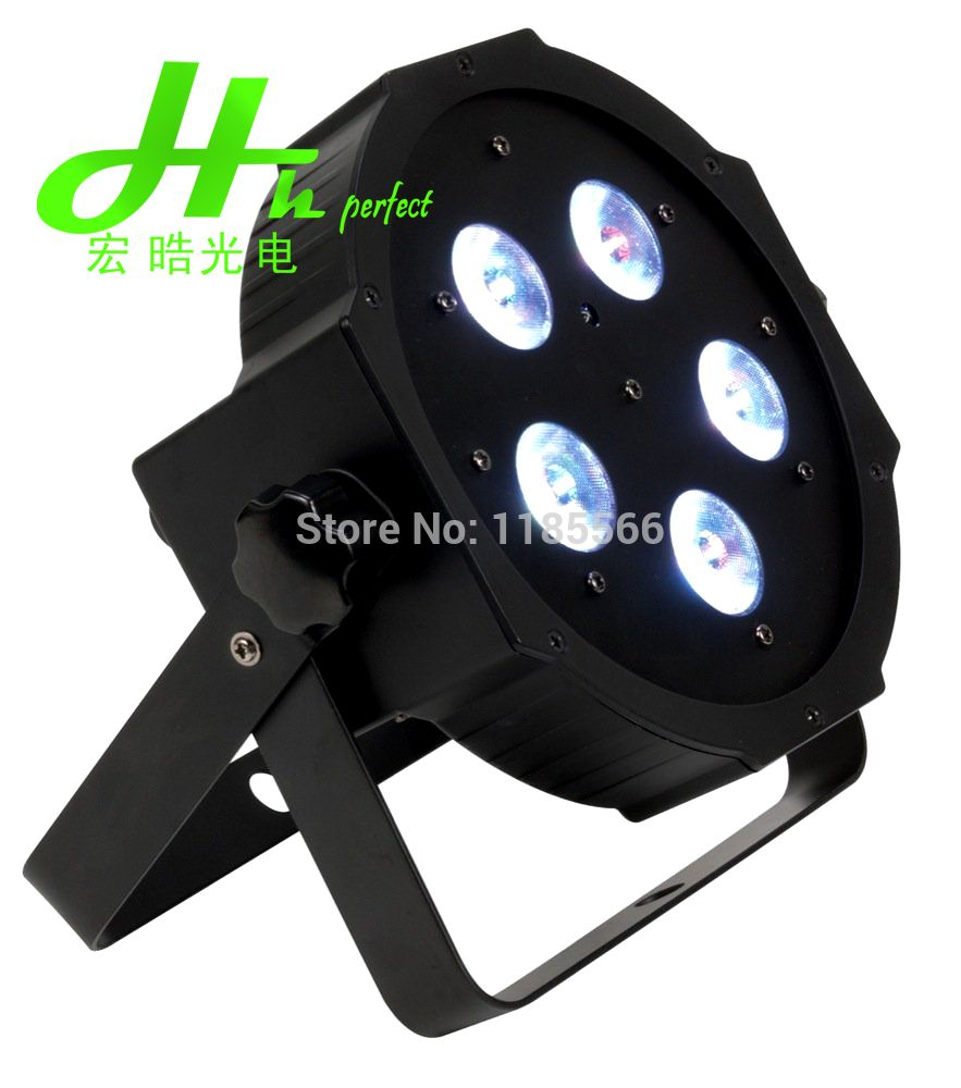 Find More Stage Lighting Effect Information About On Sales High Quality 5pcs 10w Rgbw 4in1 Rgbw Led Flat Par Stage Effec Led Lights Stage Lighting Waterproof