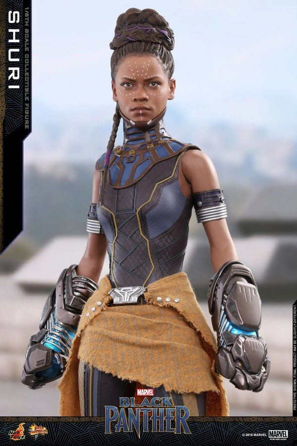 Black Panther 1/6th scale Shuri Collectible Figure From Hot Toys