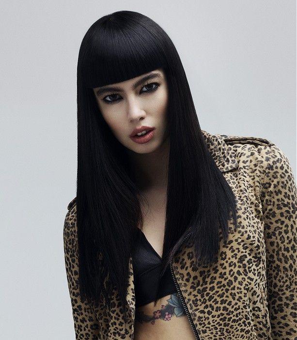 HOB Salons Long Black Hairstyles