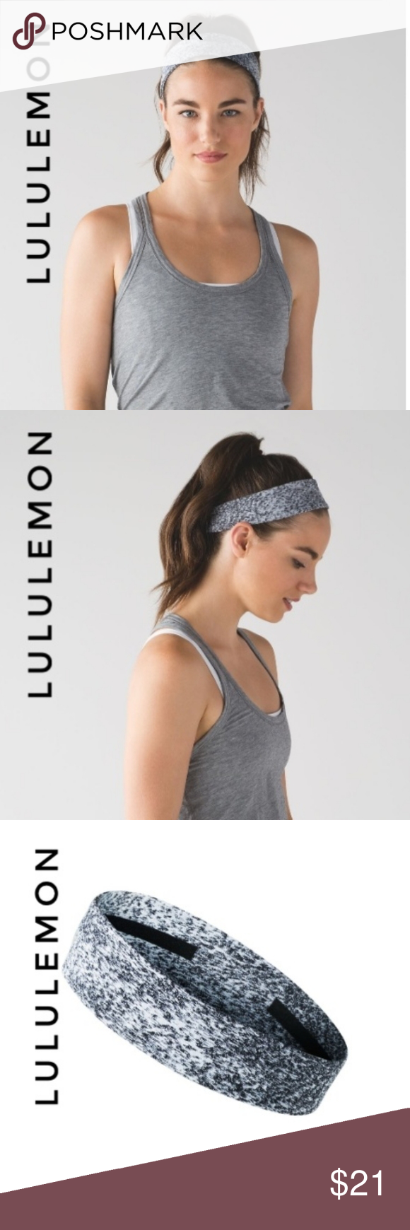 Lululemon fly away tamer headband Lululemon  Fly Away tamer headband brand new w…