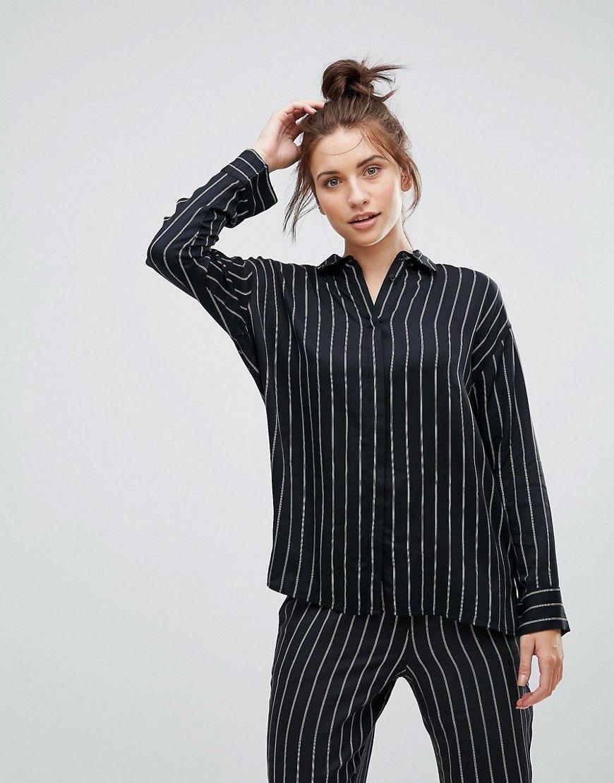 HUNKEM/ÖLLER Damen Langarm-Pyjamatop