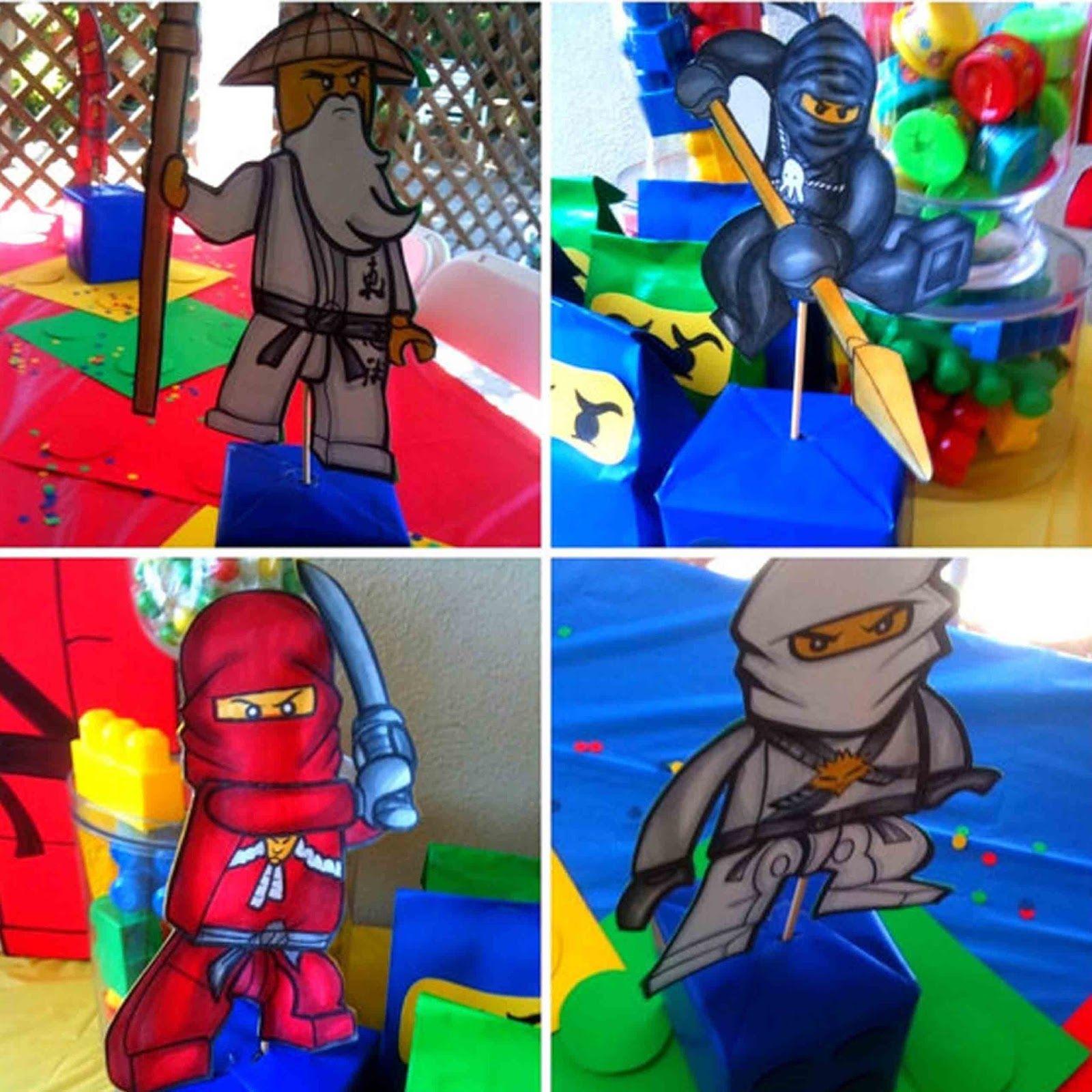 make your own ninjago birthday party decor digital files