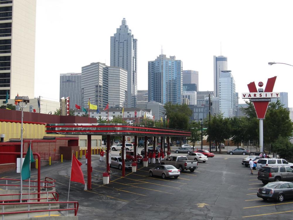 The Varsity, Atlanta, in 2020 Visit atlanta