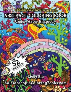 Underwater Rhapsody: An Abstract Coloring Book | Entspannung und ...